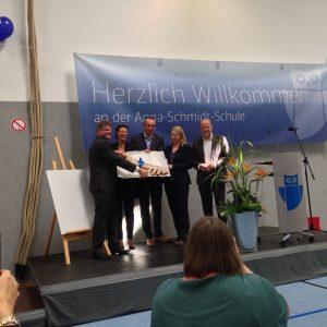 Einweihung Der Neuen Turnhalle Der Anna Schmidt Schule Spd Nieder