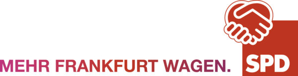 "SPD Frankfurt - Logo ""Mehr Frankfurt wagen"""