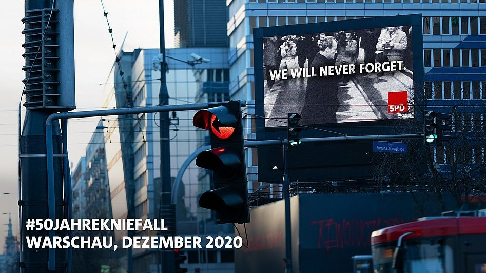 50 Jahre Knieefall Willy Brandt
