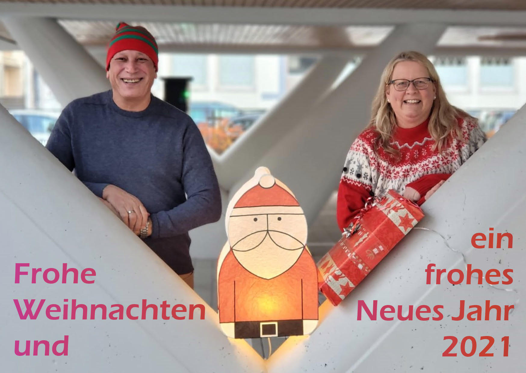 Weihnachts-/Neujahrsgrüße SPD für den Frankfurter Norden