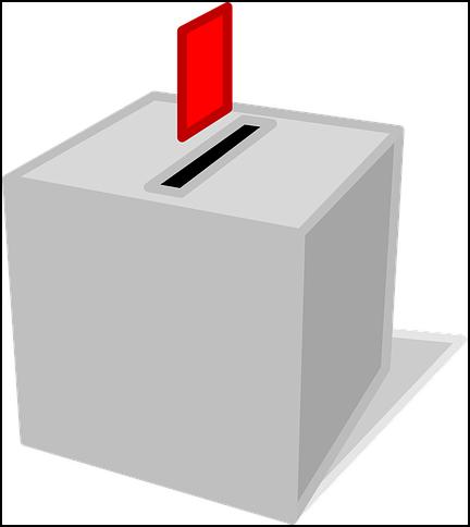 Graphik Wahlbox